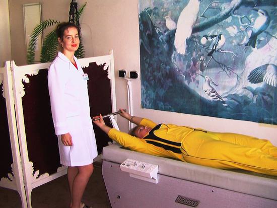 Минюк - медсестра санатори Алеся